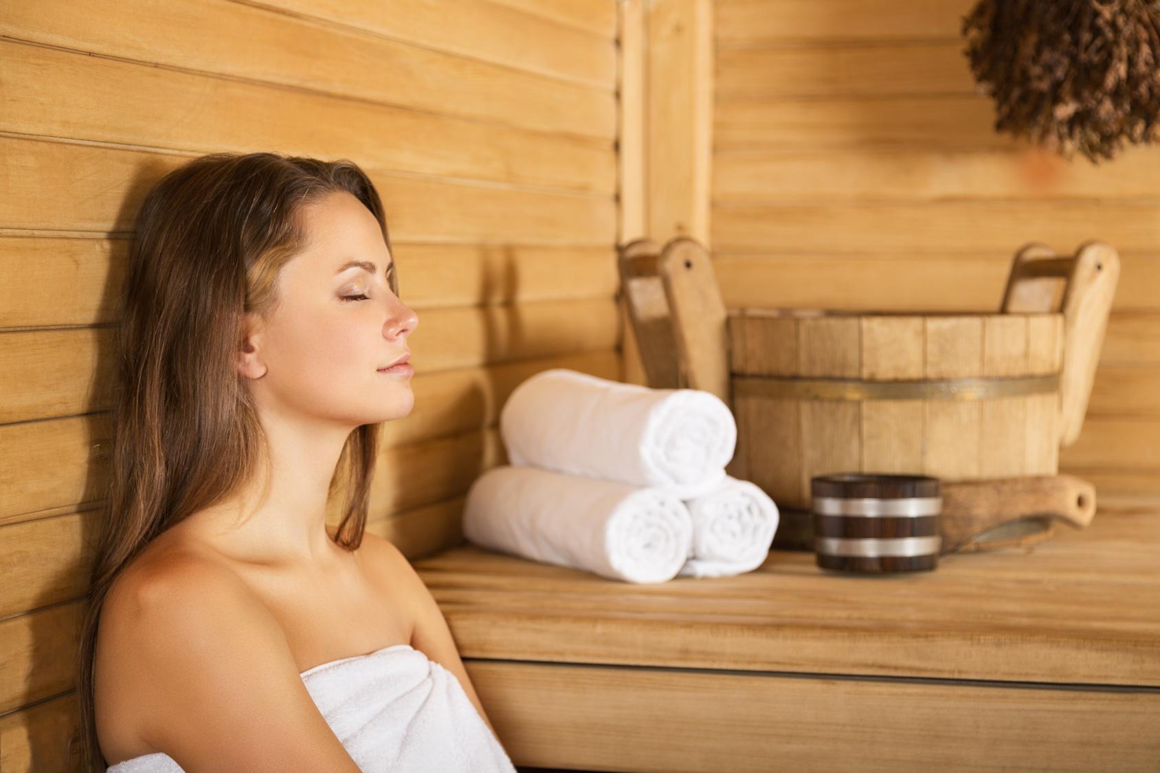 Entspannen in der Cottage Sauna