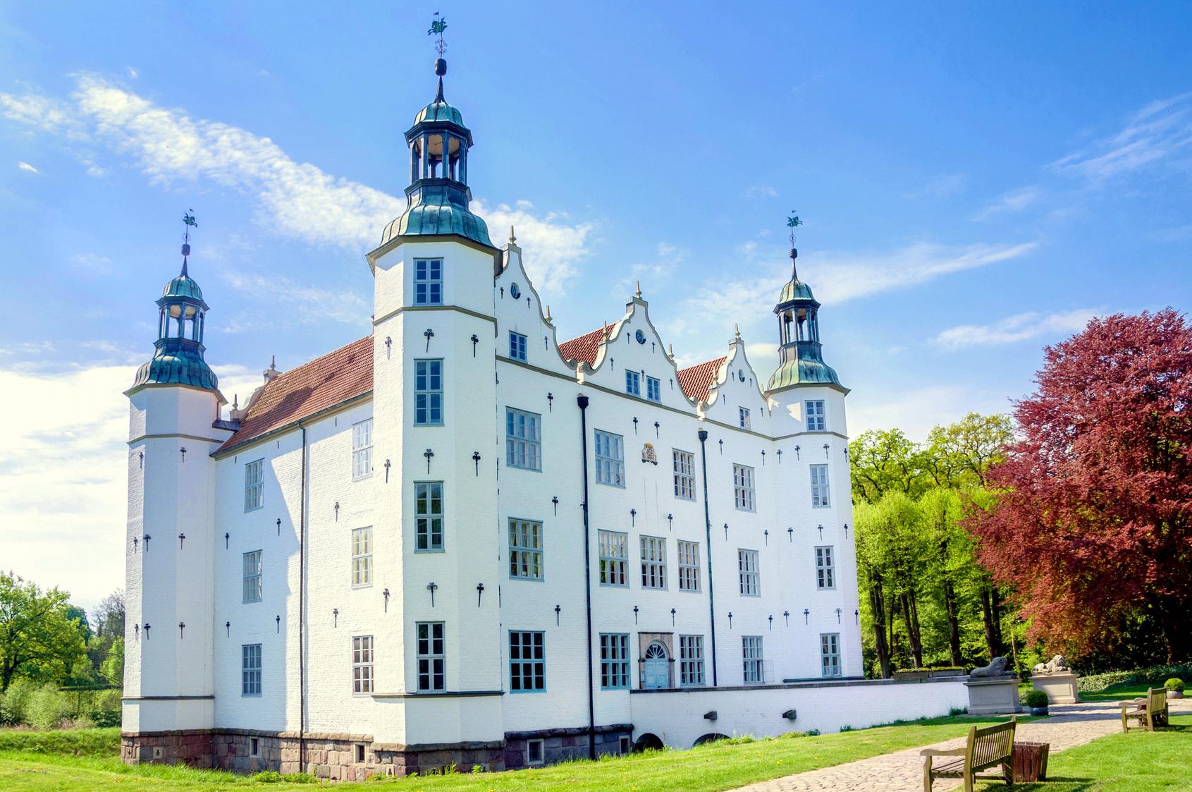 Schlossbesichtigung in Ahrensburg