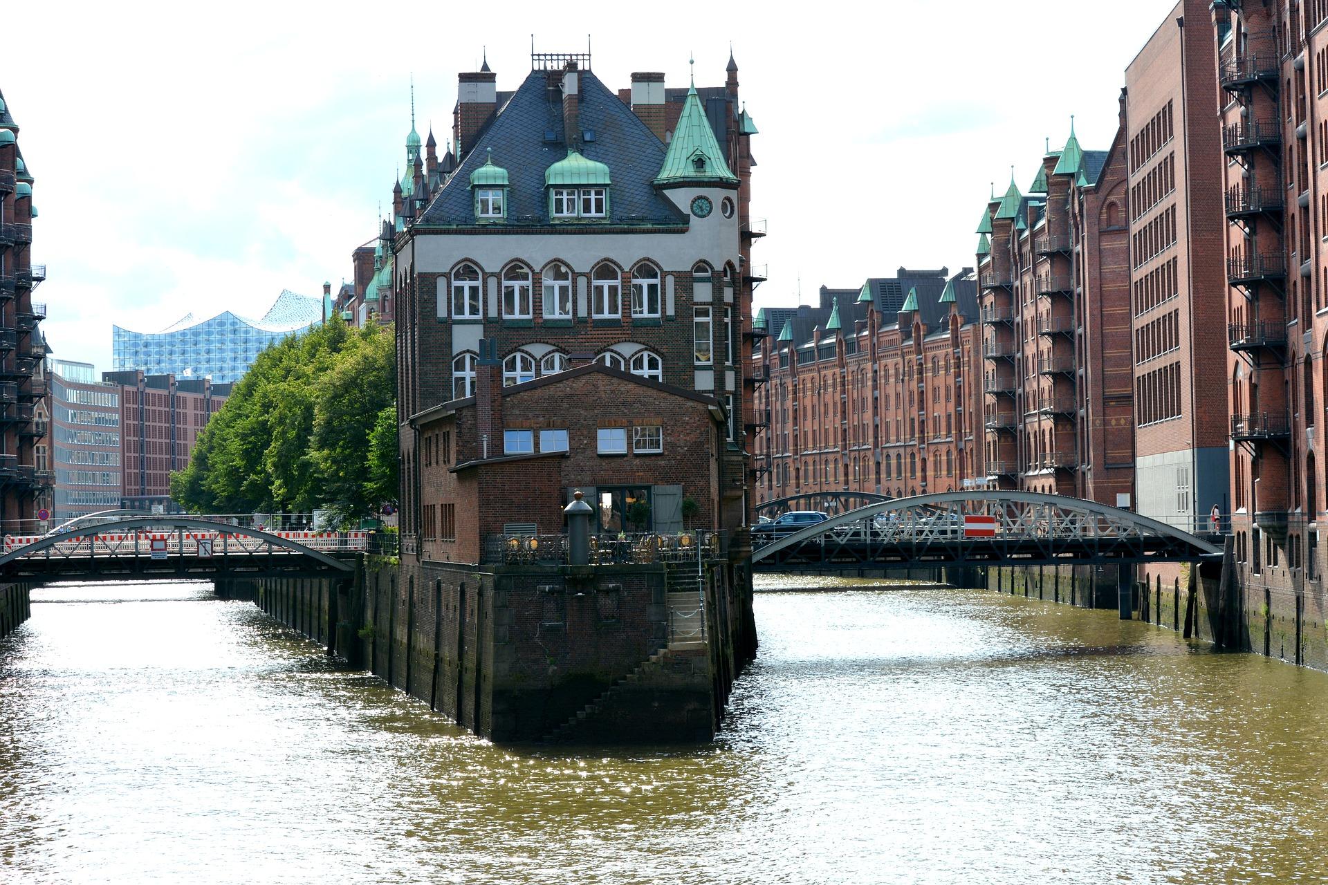 Stadtbummel in Hamburg