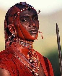 Guerriero Masai