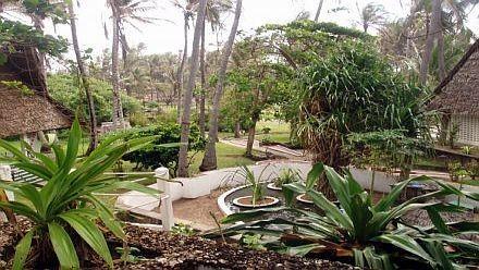 I giardini del Watamu Beach Hotel