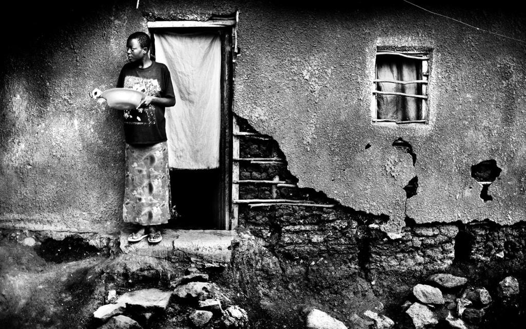 Kenya-Kibera slum, Nairobi