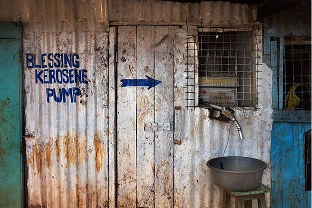 Blessing kerosene pump Nairobi Kenya