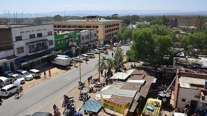 Kenya. Naivasha Town