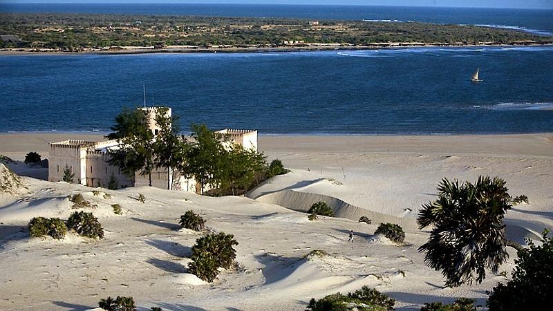 Kenya. Il Forte. Spiaggia di Shela - Isola di Lamu