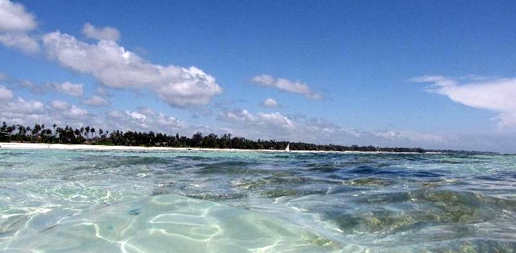 Kinondo Beach