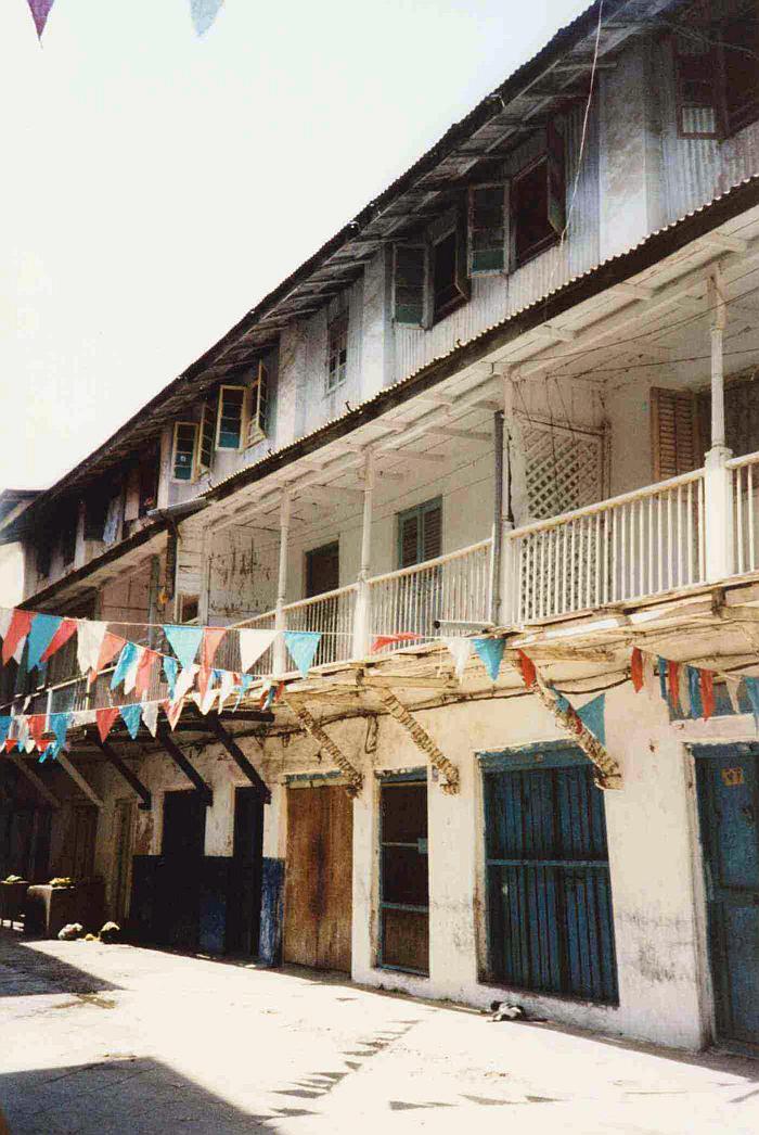 La presunta casa natia di Freddie Mercury a Stone Town-Zanzibar