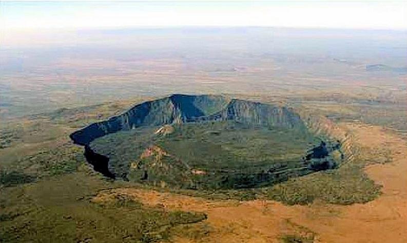 La doppia caldera del Monte Suswa