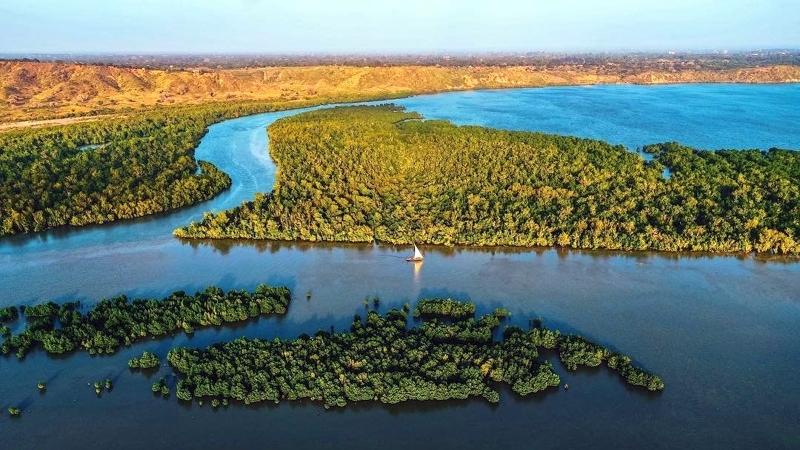 Kenya. Kilifi Creek
