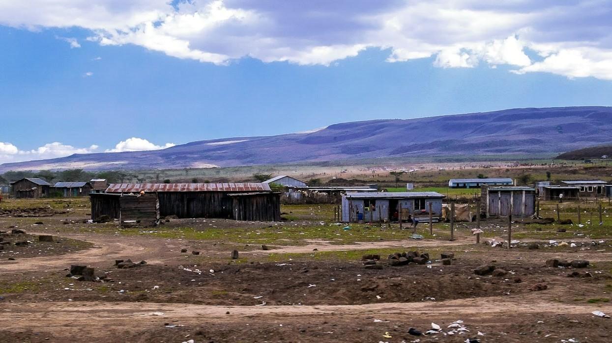 Ai piedi del Monte Ol Donyo Sabuk