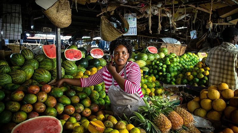 Kenya. Nairobi Market