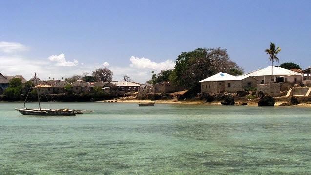 Isola di Wasini, Kenya