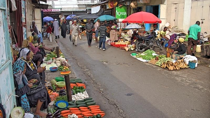 Kenya. Mombasa Market