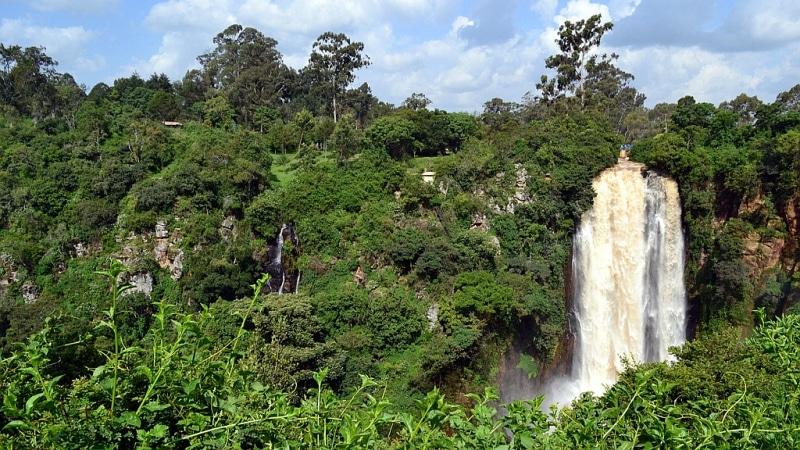 Kenya. Cascate Thomson - Thomsons Falls