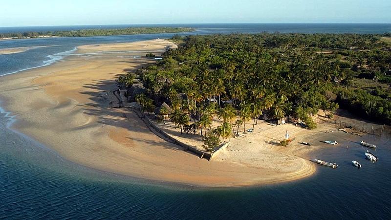 Kenya. Isola di Manda