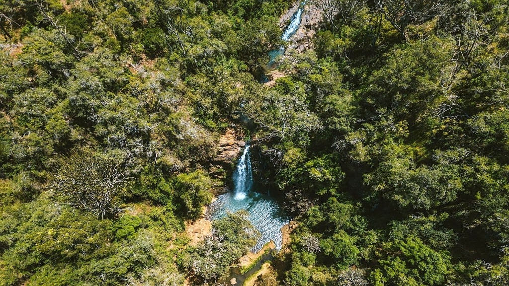 Ngare Ndare Forest Reserve Waterfall