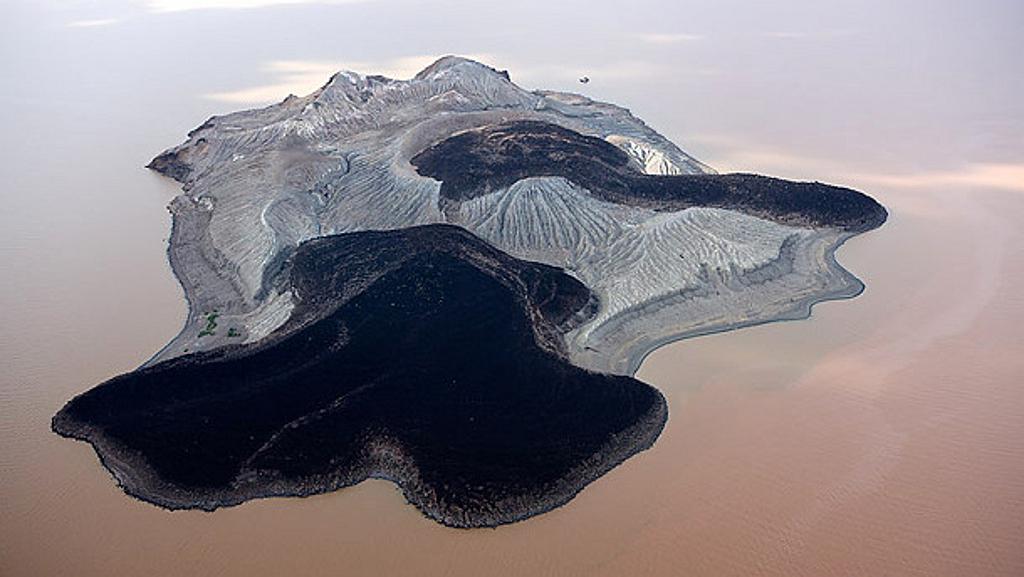Isola Nord Lago Turkana Kenya
