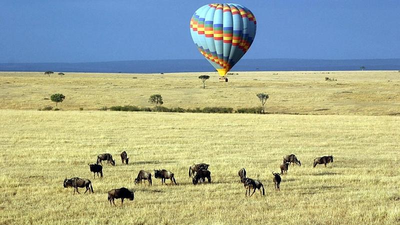 Kenya. Safari in mongolfiera