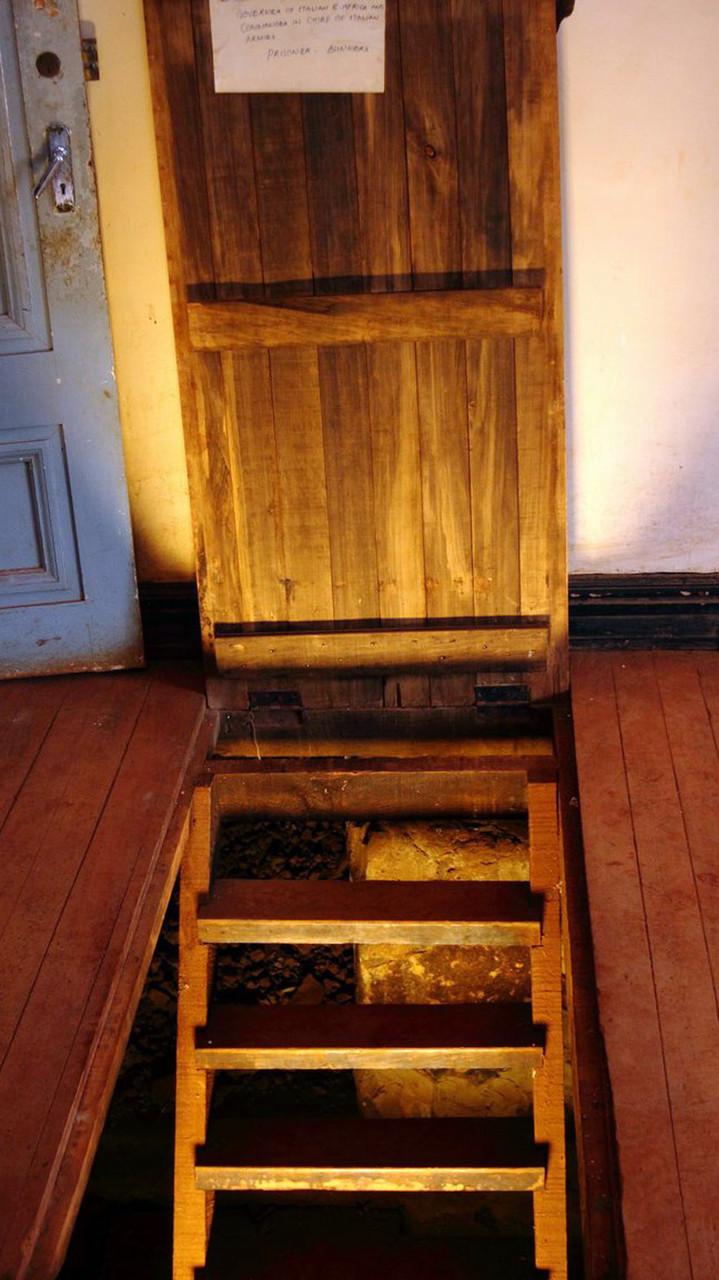 Castello MacMillan-Accesso ai bunker