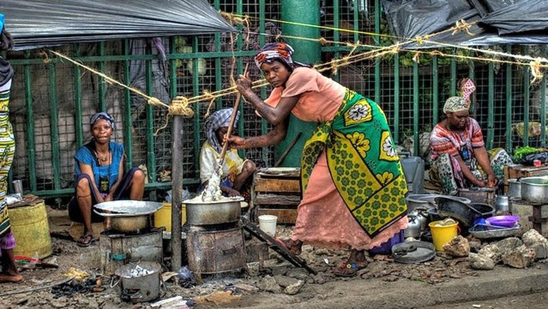 Kenya. Street food Mombasa