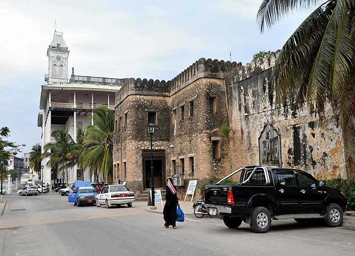Il forte arabo-Stone Town Zanzibar