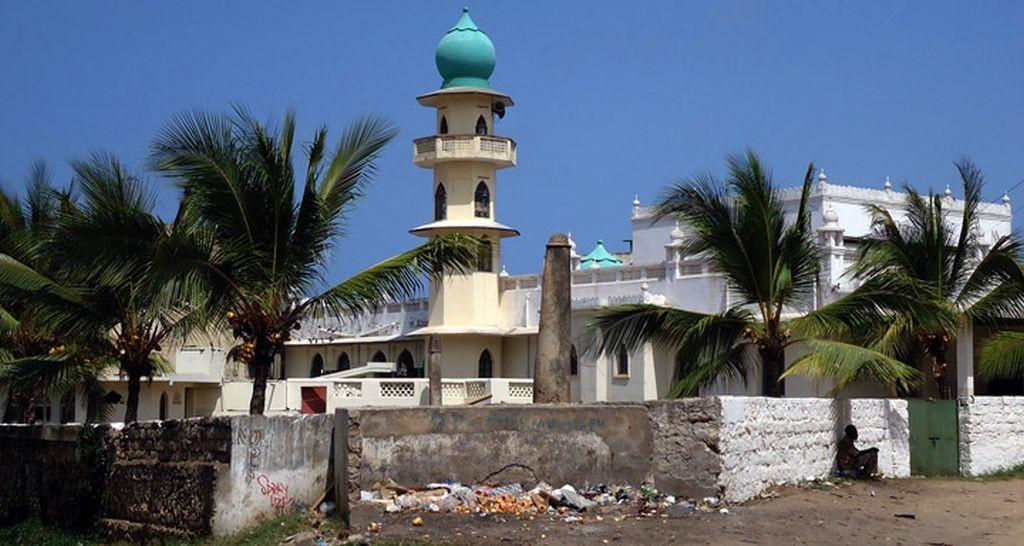 Moschea di Juma (Jamia), moschea di preghiera del venerdì,Malindi.