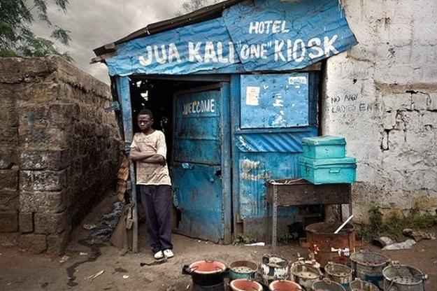 Hotel Jua Kali 'One' Kiosk Nairobi Kenya
