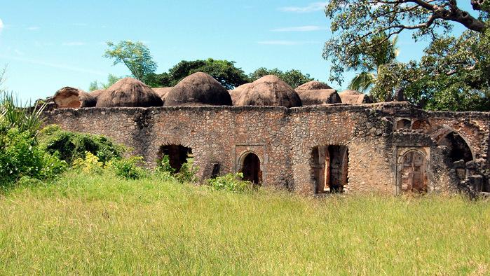 Great Mosque sull'isola di Kilwa Kisiwani, in Tanzania