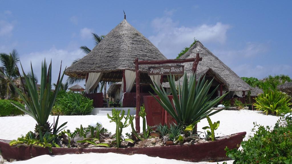 Papa Remo Beach, Watamu - Kenya