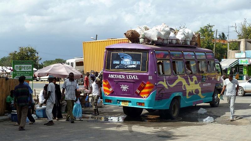 Kenya. Mariakani Town