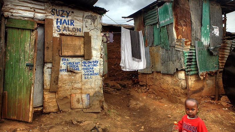 Kenya. Hair Salon in Nairobi