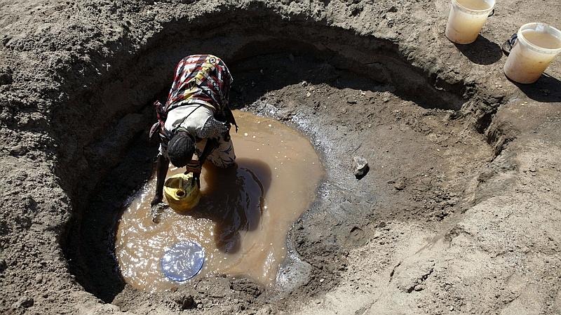 Kenya. Raccolta dell'acqua