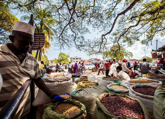 Mercato di Darajani-Stone Town Zanzibar