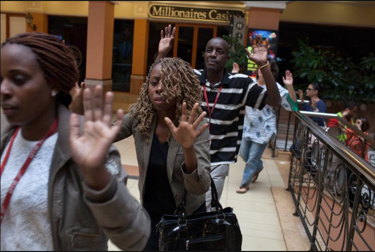 Vittime e superstiti dell'attacco jihadista all'Hotel Dusit di Nairobi, Kenya