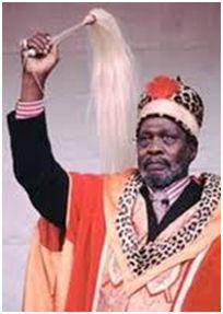 Jomo Kenyatta dopo la vittoria