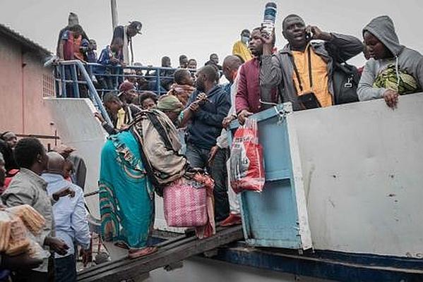 Video Goma evacuazione