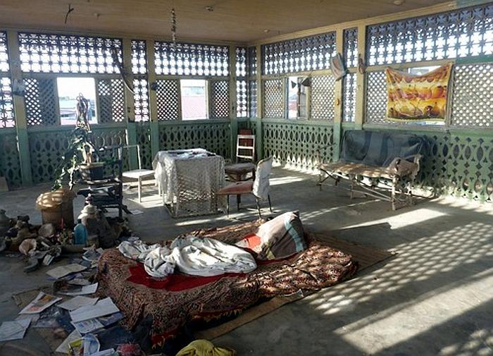 Interno della casa di Tippu Tip a Stone Town-Zanzibar