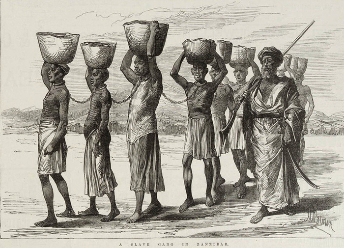Schiavi Zanj a Zanzibar (1889)