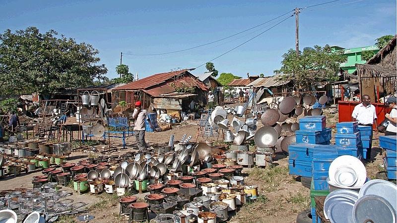 Kenya. Il mercato a Malindi