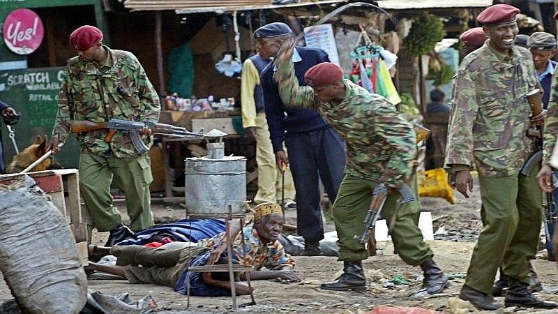 Kenya. La repressione della polizia sulla popolazione