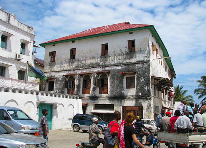 Il vecchio consolato britannico-Zanzibar