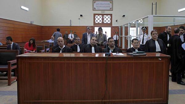 La corte anti terrorista. Salé, Marocco