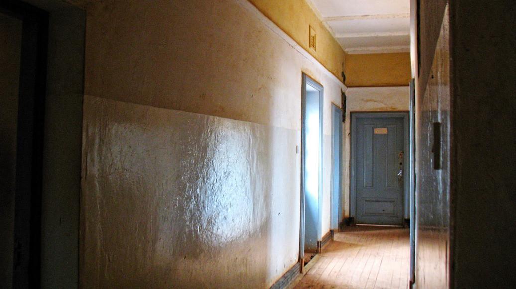 Castello MacMillan-Interno (corridoio)