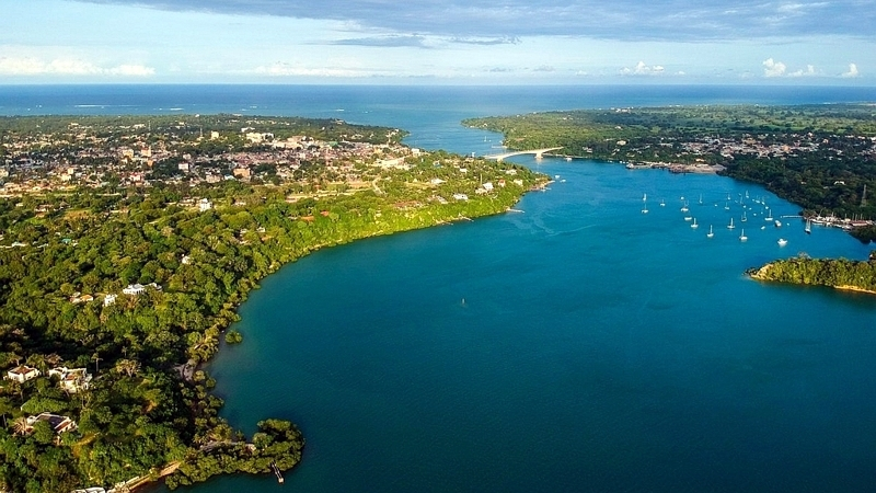 Kenya. Kilifi Creek