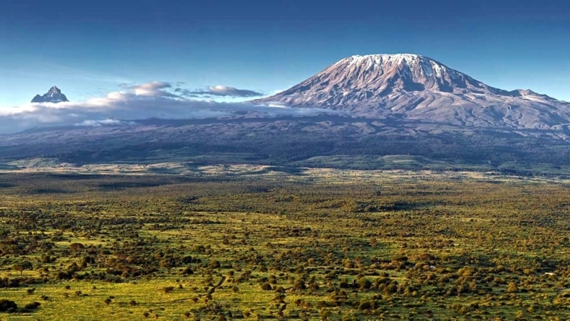 Kenya. Vista del Kilimanjaro