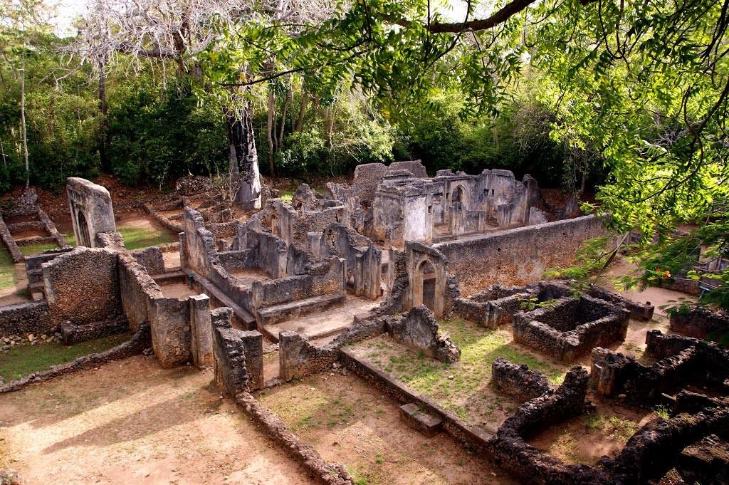 Le rovine di Gedi, Malindi.