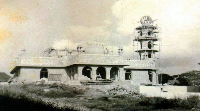 Jumaa Mosque in costruzione - Malindi
