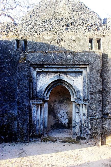 Takwa Ruins. Mihrab