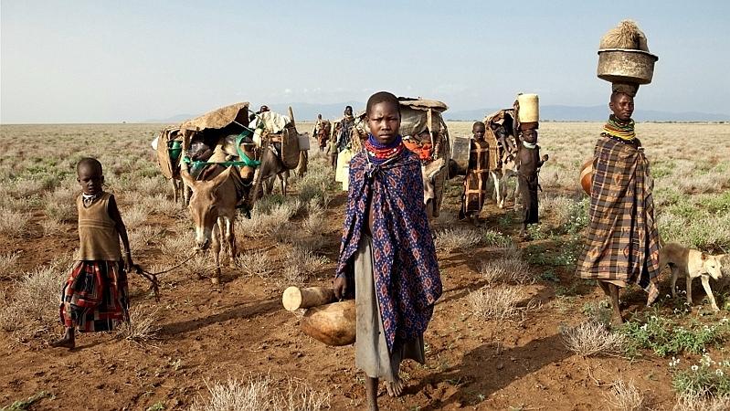 Kenya. Popolo Turkana