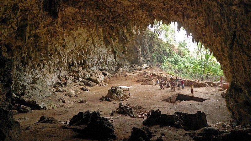 Kenya. Grotta Kitum nella Contea di Bungoma